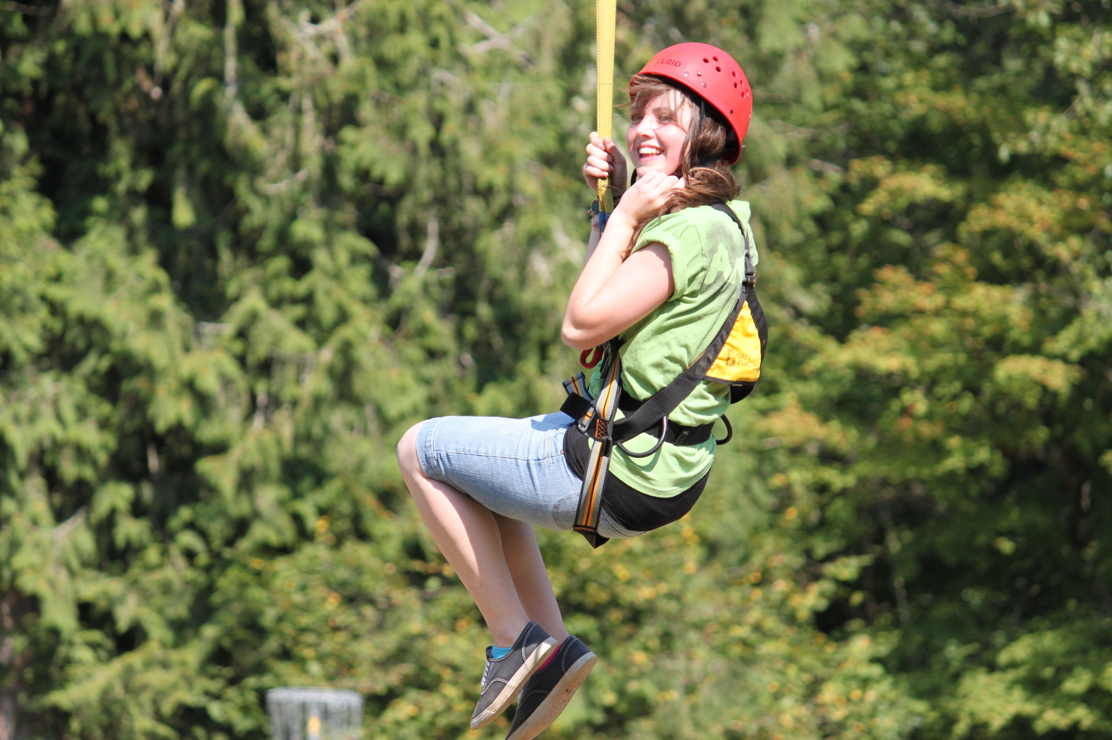 Amanda at Camp