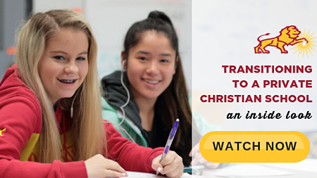 Watch Now: Transitioning to a Private Christian School